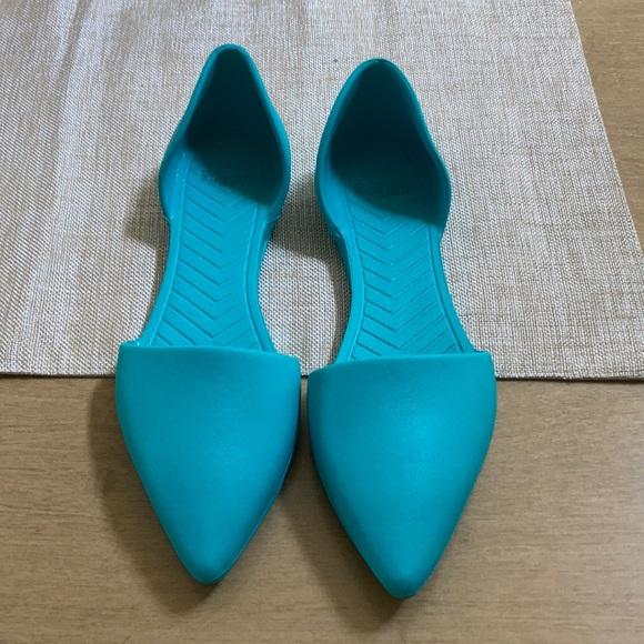 Native Audrey style - aqua color - W7